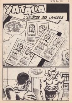 Extrait de Yataca (Fils-du-Soleil) -113- L'ancêtre des Langoos