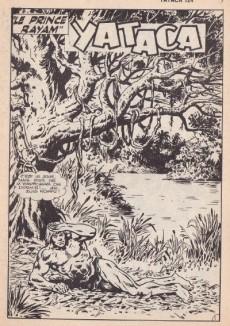 Extrait de Yataca (Fils-du-Soleil) -124- Le prince Rayam
