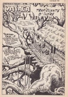 Extrait de Yataca (Fils-du-Soleil) -132- Trafiquants d'ivoire