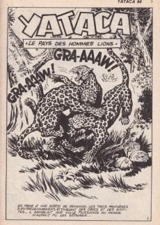 Extrait de Yataca (Fils-du-Soleil) -96- Le pays des hommes lions