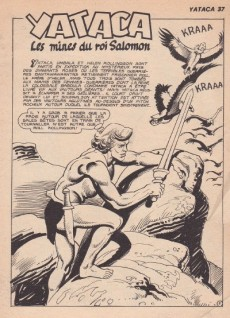 Extrait de Yataca (Fils-du-Soleil) -37- Les mines du roi Salomon