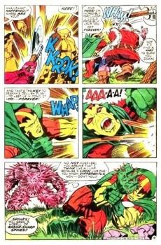 Extrait de Mister Miracle (DC comics - 1971) -8- The battle of the Id