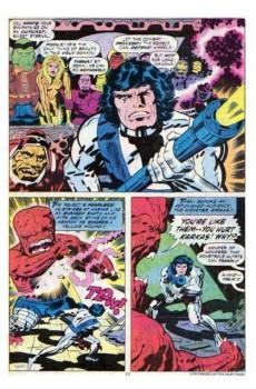 Extrait de The eternals Vol.1 (Marvel comics - 1976) -9UK- The killing machine!!