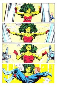Extrait de Sensational She-Hulk (The) (1989) -4- Tall disorder