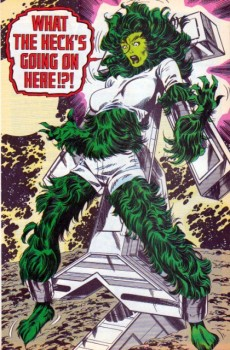 Extrait de Sensational She-Hulk (The) (1989) -7- I Have No Mouth And I Am Mean!!