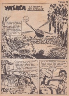Extrait de Yataca (Fils-du-Soleil) -92- La réserve des gorilles