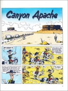 Extrait de Lucky Luke -37a85- Canyon apache