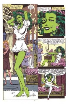 Extrait de Sensational She-Hulk (The) (1989) -33- Mole & Wife