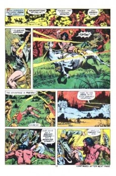 Extrait de Conan the Barbarian Vol 1 (Marvel - 1970) -21- The monster of the monoliths!