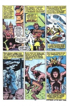 Extrait de Conan the Barbarian Vol 1 (Marvel - 1970) -22- The Coming of Conan!