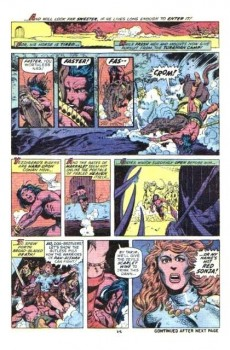 Extrait de Conan the Barbarian Vol 1 (Marvel - 1970) -23- The shadow of the vulture!
