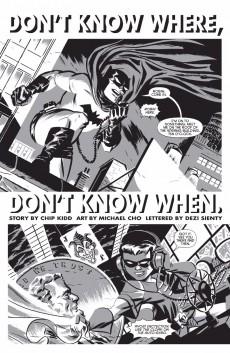 Extrait de Batman Black and White (2013) -1- Black & White