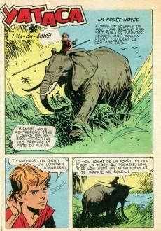 Extrait de Yataca (Fils-du-Soleil) -8- La forêt noyée