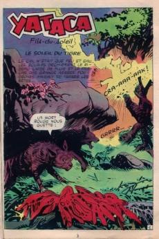 Extrait de Yataca (Fils-du-Soleil) -15- Le soleil du tigre
