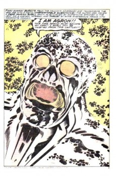 Extrait de Captain America (1968) -205- Agron Walks the Earth!