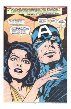 Extrait de Captain America (Marvel comics - 1968) -210- Showdown day!