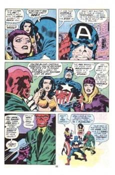 Extrait de Captain America (1968) -212- The face of a hero!