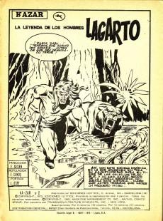 Extrait de Ka-Zar (Vol. 1) -2- La leyenda de los hombres lagarto