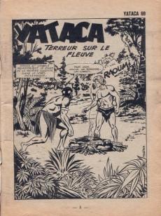 Extrait de Yataca (Fils-du-Soleil) -69- Terreur sur le fleuve