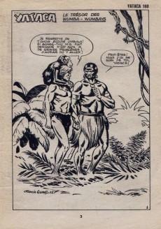 Extrait de Yataca (Fils-du-Soleil) -160- Le trésor des Wumbas-Wumbays