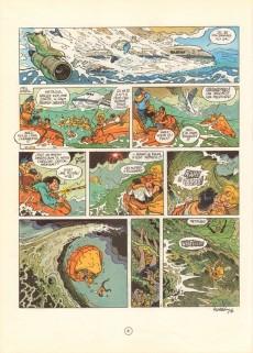 Extrait de Natacha -10b04- L'île d'outre-monde