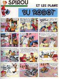 Extrait de Spirou et Fantasio -1c1975- 4 aventures de spirou et fantasio