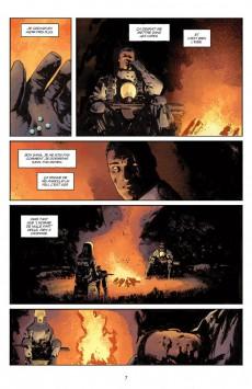 Extrait de B.P.R.D. - L'Enfer sur Terre -4- Le Lac de feu