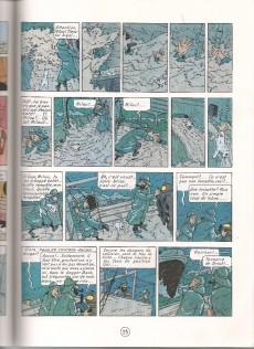 Extrait de Tintin (Study Comics - del Prado) -5- L'Étoile mystérieuse