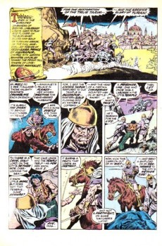 Extrait de Conan the Barbarian Vol 1 (Marvel - 1970) -26- The hour of the griffin!