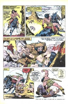Extrait de Conan the Barbarian Vol 1 (Marvel - 1970) -27- The Blood-Jewel of Bel-Hissar!