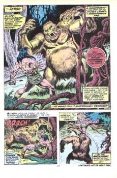 Extrait de Conan the Barbarian Vol 1 (Marvel - 1970) -28- The monster of Zembabwei!
