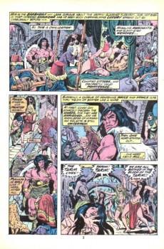 Extrait de Conan the Barbarian Vol 1 (Marvel - 1970) -29- Two against Turan!