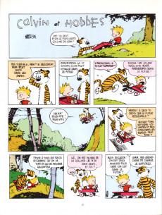 Extrait de Calvin et Hobbes -17- La flemme du dimanche soir
