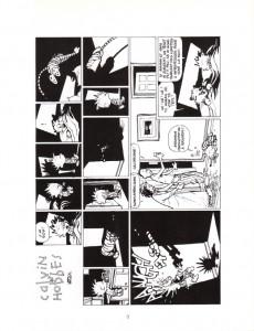 Extrait de Calvin et Hobbes -18- Gare au psychopathe à rayures !