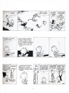 Extrait de Calvin et Hobbes -19- Que de misère humaine !