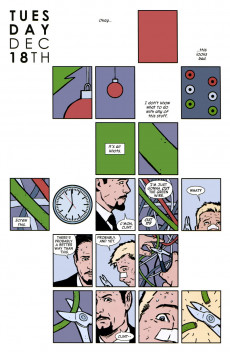 Extrait de Hawkeye (2012) -6- Six days in the life of