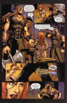 Extrait de Red Sonja (2005) -7- The hand of fate