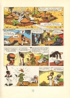 Extrait de Spirou et Fantasio -25d87- Le gri-gri du Niokolo-Koba
