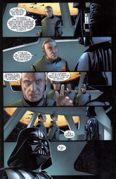 Extrait de Darth Vader (2015) -2- Book I, Part II : Vader