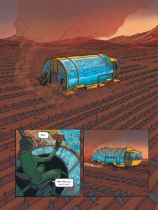 Extrait de Trish Trash -1- Rollergirl sur Mars