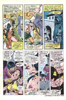 Extrait de Conan the Barbarian Vol 1 (Marvel - 1970) -43- Tower of blood!