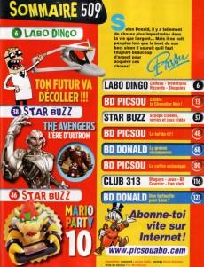 Extrait de Picsou Magazine -509- Picsou Magazine n° 509