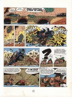 Extrait de Spirou et Fantasio -29a84- Des haricots partout