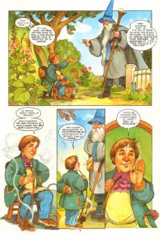 Extrait de Bilbo le Hobbit - Tome INT