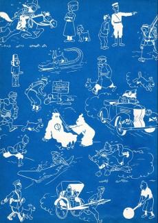 Extrait de Tintin (Historique) -2B20- Tintin au congo