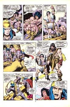 Extrait de Conan the Barbarian Vol 1 (Marvel - 1970) -31- The shadow on the tomb!