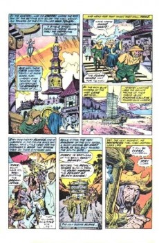 Extrait de Conan the Barbarian Vol 1 (Marvel - 1970) -32- Flame winds of lost Khitai!