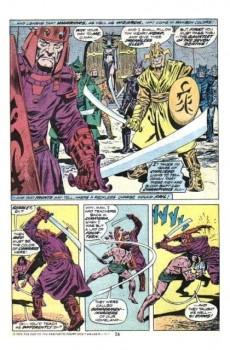 Extrait de Conan the Barbarian Vol 1 (Marvel - 1970) -33- The gauntlet of the seven deaths!