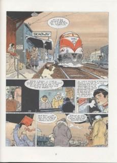 Extrait de Bernard Prince -13a89- Le port des fous