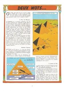 Extrait de Blake et Mortimer (Historique) -3b74- Le Mystère de la Grande Pyramide - 1re partie